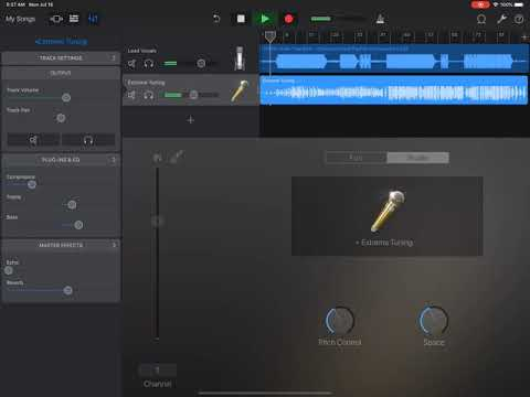 How to Autotune in Garage Band (Freestyle)