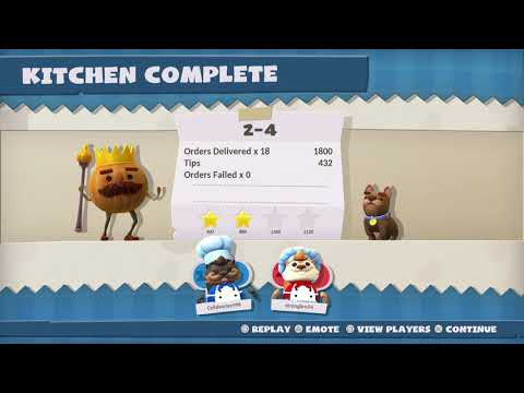 Overcooked! All You Can Eat Carnival of Chaos 2-4 4 Stars |