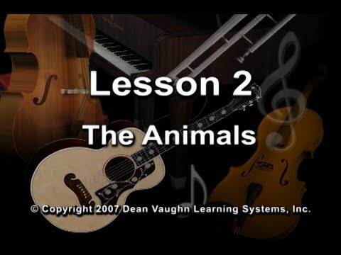 Lesson 2 - The Vaughn Cube(TM) for Music Theory