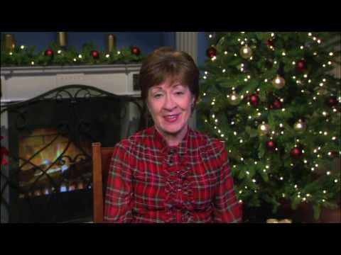 Happy Holidays from Senator Susan Collins