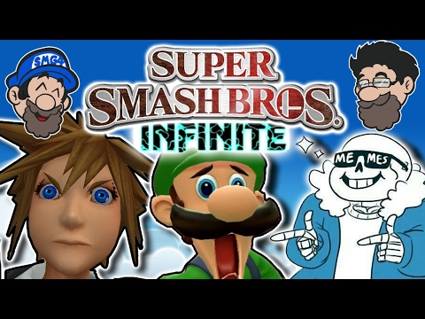 MORE STUPID CHARACTERS! || Smash Bros INFINITE || HOBO BROS