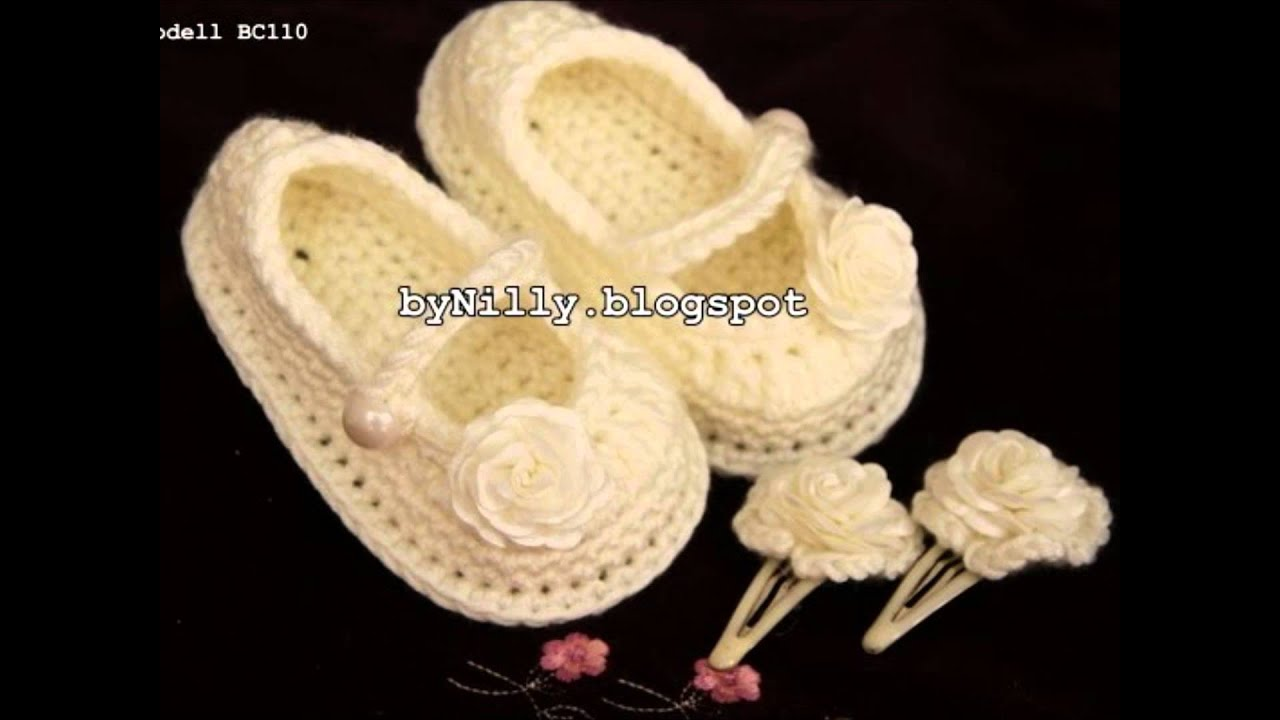 By Nilly Style Häkeln Baby Schuhe & Baby Shoes Crochet ...