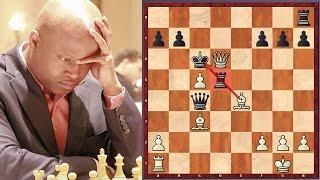 📌 The Game Of Pins! Maurice Ashley vs Alexander Shabalov