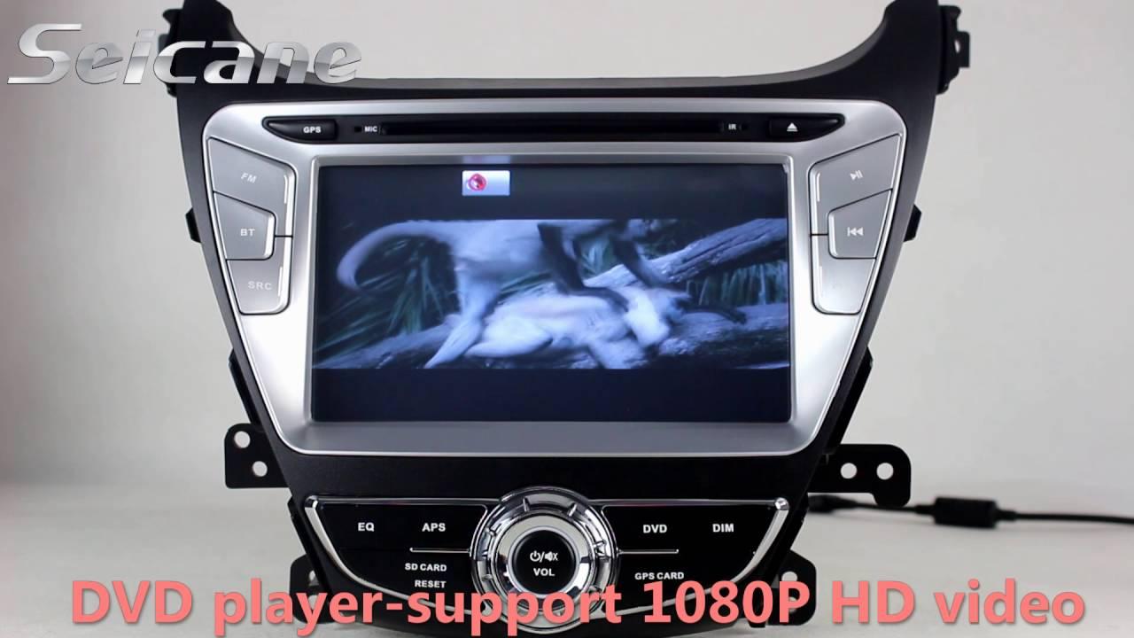 2011 2015 Hyundai Elantra Avante Bluetooth Music Hd Touch Screen Wiring Diagram 2014 Radio Get Free Audio System Support Gps Ipod