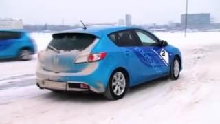 Управление передним приводом зимой - от инструктора(Управление автомобилем зимой, всегда связано с множеством сюрпризов на дороге. Всегда надо быть подготовле..., 2015-10-09T08:05:29.000Z)