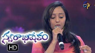 Om Sarvani Song | Malavika Performance | Swarabhishekam | 18th September 2016| ETV Telugu