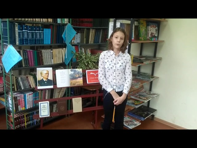 Изображение предпросмотра прочтения – ВарвараПанникова читает произведение «Неохотно инесмело…» Ф.И.Тютчева