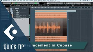 Cubase Quick Tips - Drum Replacement