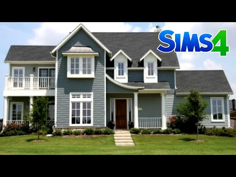 American Family House Construction Sims 4 Youtube