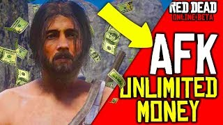 STAY AFK AND MAKE UNLIMITED MONEY in Red Dead Online! Easy Money Making RDR2! Money Glitch