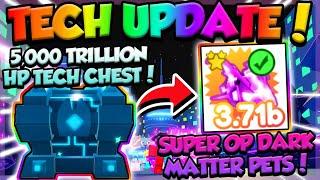 HUGE TECH UPDATE!! DARK MATTER PETS + MORE!! - Pet Simulator X (Roblox)
