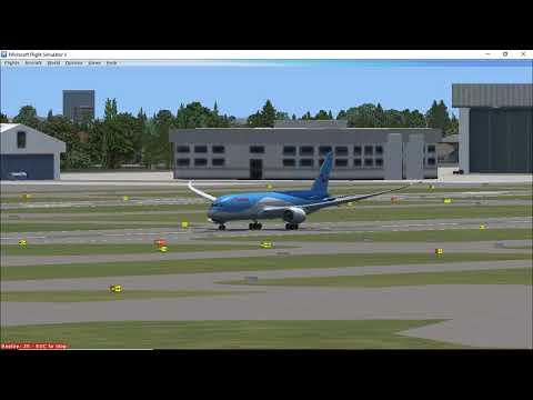 Thompson Boeing 787-8 Dreamliner Takeoff