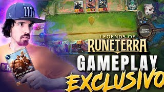 MI PRIMERA PARTIDA a *LEGENDS OF RUNETERRA* (GAMEPLAY EXCLUSIVO) CooLife