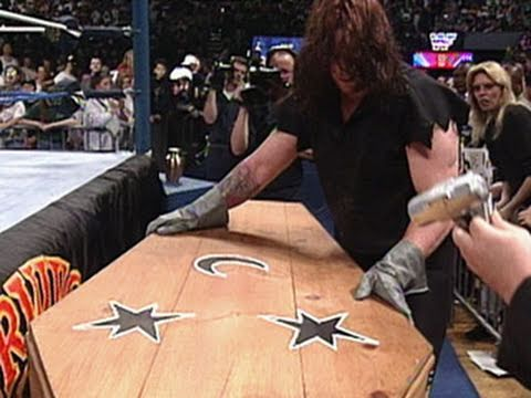 The Undertaker faces off against Kamala in a Coffin Match