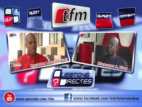Questions Directes Avec Amadou Lamine Sall Poète écrivain 27 Août 2015