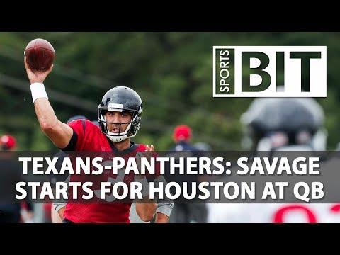 Houston Texans at Carolina Panthers | Sports BIT | NFL Picks