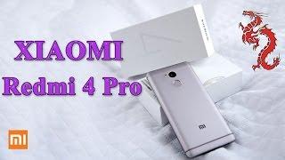 XIAOMI REDMI 4 PRO распаковка //Экспресс тест и сравнение с Redmi 3s