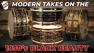 Modern Takes on the Classic Ludwig Black Beauty Snare Drum