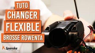 Comment démonter et changer le flexible de votre brosse ROWENTA AIR FORCE