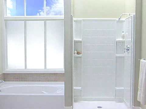 Installing Shower Bases & Bath Shower Stalls - YouTube