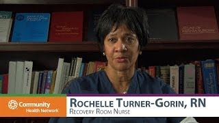 Colonoscopy Recovery with Rochelle Turner-Gorin, RN - Recovery Room Nurse