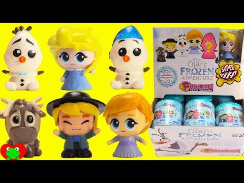 genie-opens-frozen-fashems-series-2-olaf's-frozen-adventure