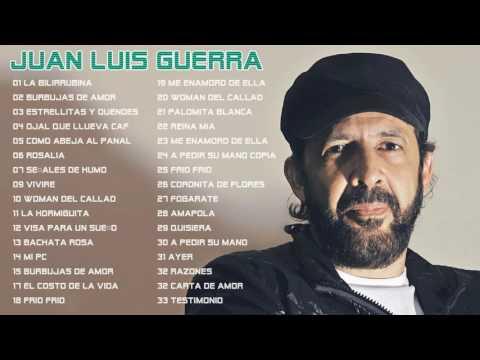 Juan Luis Guerra Sus Mejores Éxitos Completos 2016 Baladas Románticas - Exitos MIX
