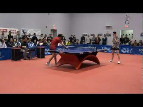 Shandong - Canada Table tennis friendly match 2012 Chen Hongtao vs Li Xing Chang 4