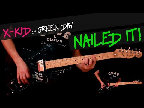 X-Kid - Green Day guitar cover by GV +chords