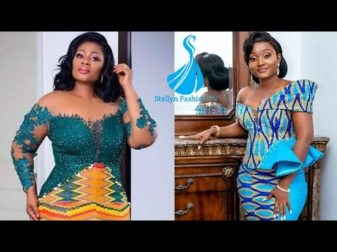 2020 Flawless and Elegant Kente Style for Classy African women