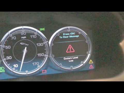 "Jaguar XJ ""Coolant Level Low"" – Repair C2D36671 *Save Money*"