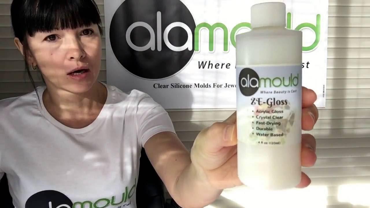 Alamould ZE-Gloss  How to make resin items shine like a glass