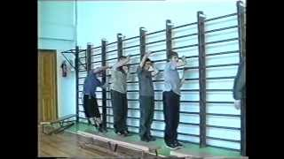 Урок физкультуры в 11 классе / Physical education class in high school