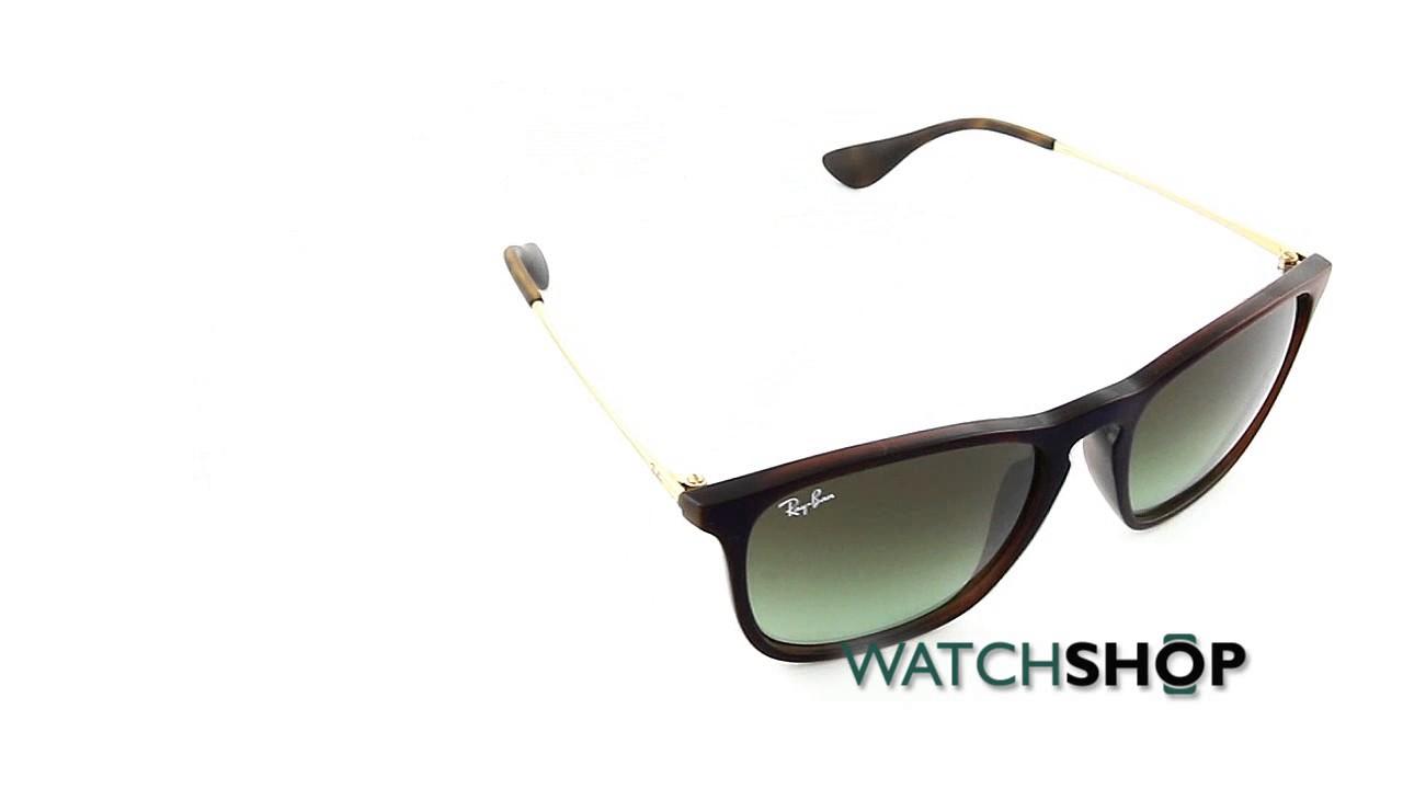 31f322da617 Ray-Ban Men s Chris Sunglasses (RB4187-6315E8-54) - YouTube