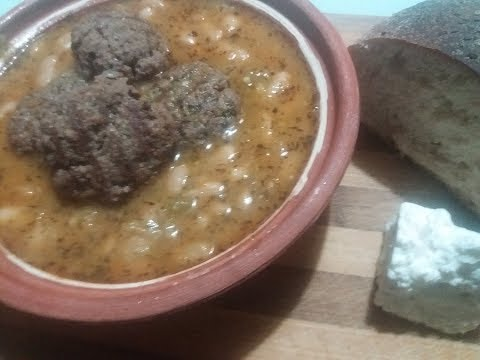 MEMORIES OF MACEDONIA ~ KOFTINJA / KOFTE SO GRAF (Meatballs with Beans)