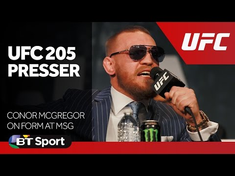 Conor McGregor on form at UFC    Press Conference New Flash Game