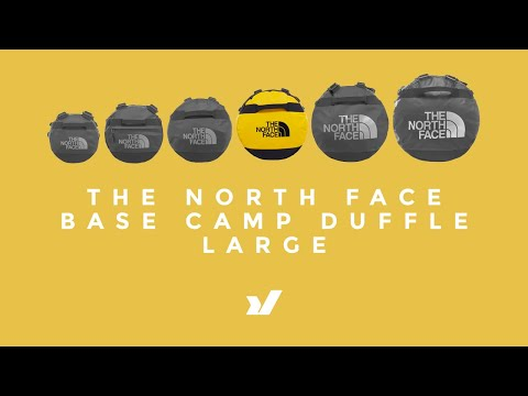 f08a25beb The North Face Large Base Camp Duffle - YouTube