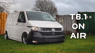 Fitting Air Suspension to our VW Transporter T6.1 | Transporter HQ