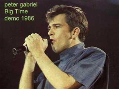Peter Gabriel - Big Time demo 1986