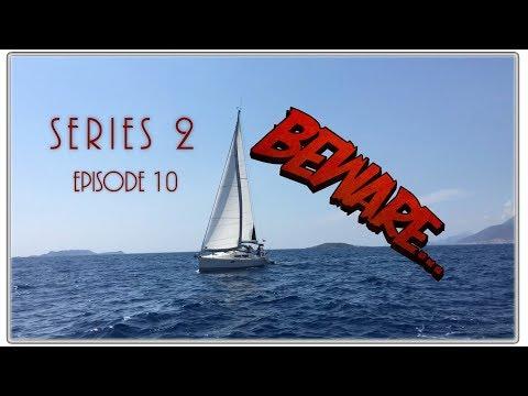 Sailing into Patras, beware the greedy locals! Sailing Kejstral Adventures S02E10
