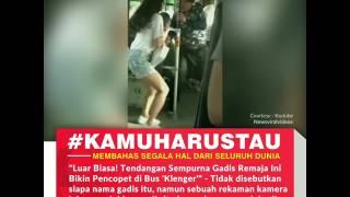 Download Video Luar Biasa ! Tendangan Sempurna Gadis Remaja Ini Bikin Pencopet di Bus 'Klenger' MP3 3GP MP4