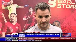 McMenemy Optimistis Timnas Indonesia Kalahkan Malaysia