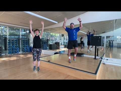 Fit and Fabulous group exercise class Part 1