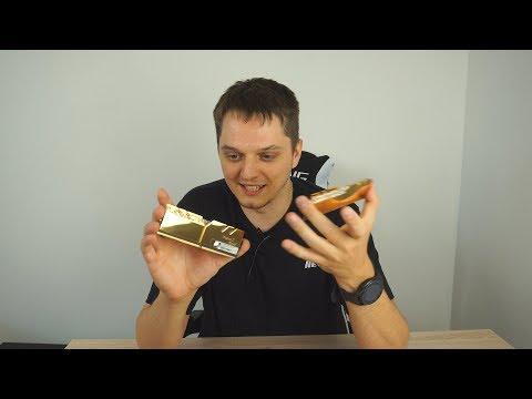 Золотая цыганская DDR4 - 4400Mhz распаковка