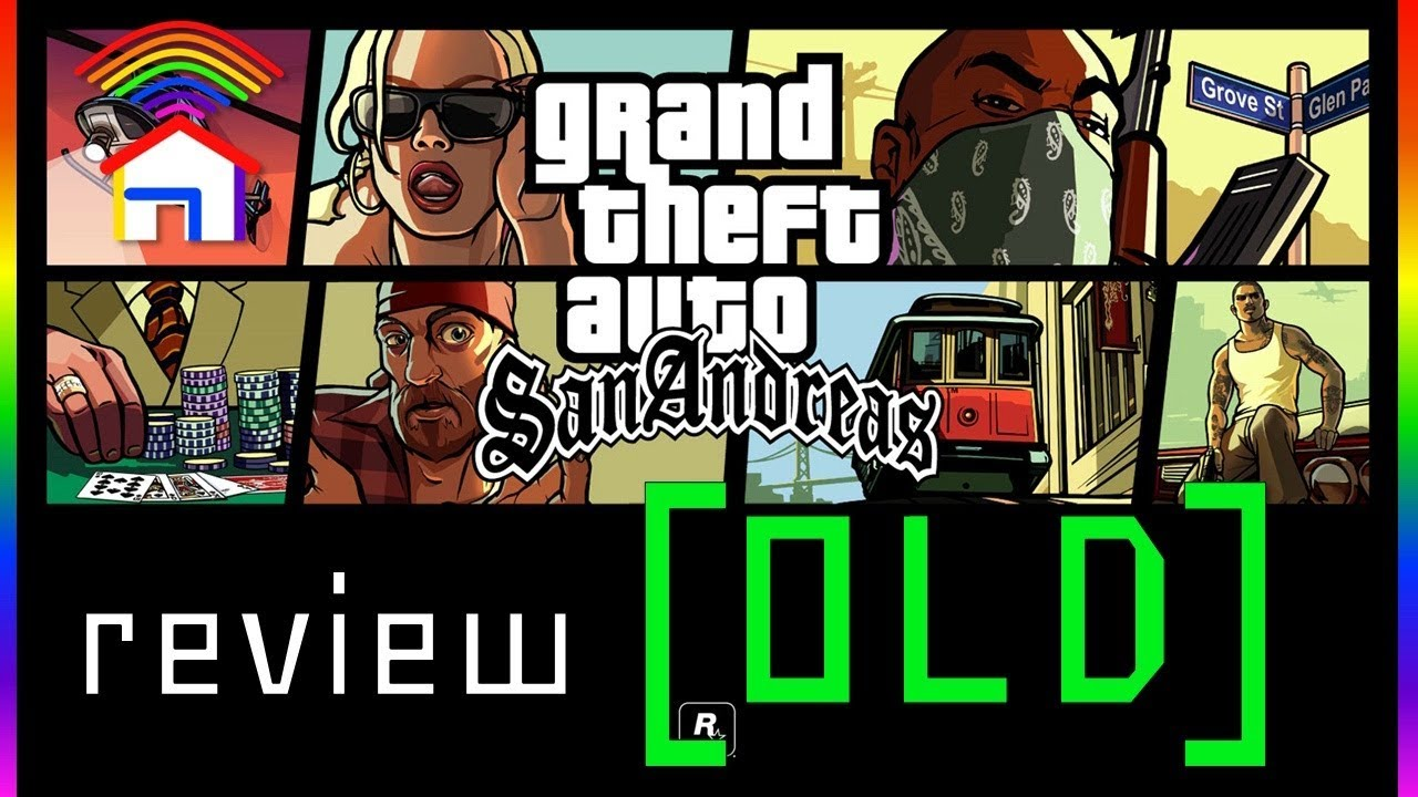 [OLD] Grand Theft Auto: San Andreas review - ColourShed (PILOT) thumbnail