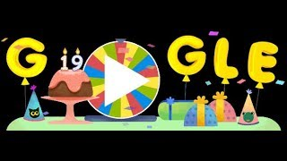 Google Birthday Surprise Spinner ,google Celebrates 19th Birthday With 19 Games From Doodles Past