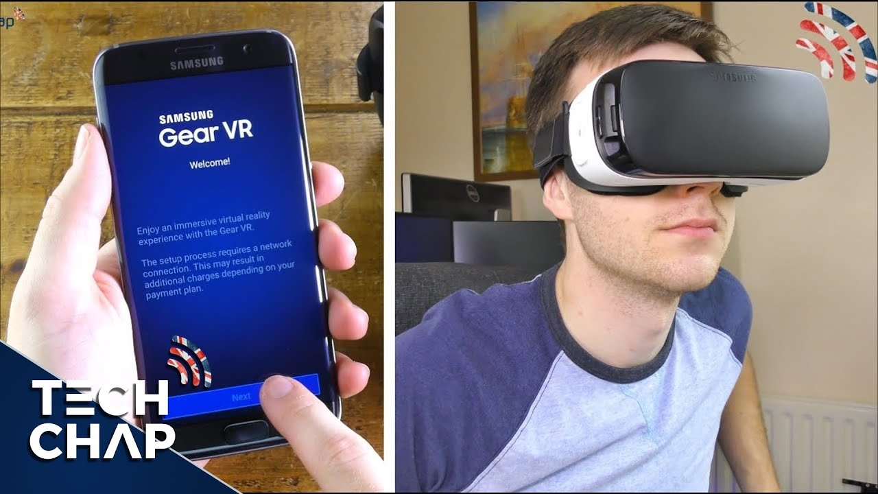 Samsung Gear Vr Setup  Review With Galaxy S7  S7 Edge -5578