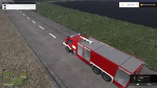 Fs 15 Straż pożarna #1 pożar traktora