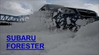 雪で遊んでみた 「スバル フォレスター」