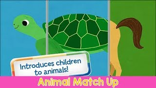 Animal Match Up Games for Kids and Baby Cute